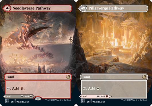 Needleverge Pathway // Pillarverge Pathway - Foil - Borderless