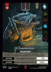 Chiasmodon E13