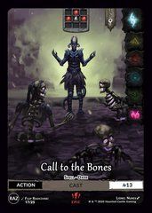 Call to the Bones E17
