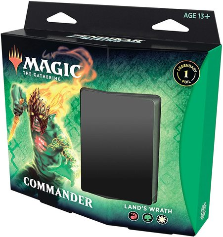 Zendikar Rising - Land's Wrath Commander Deck