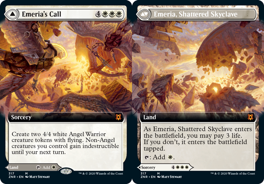 Emerias Call // Emeria, Shattered Skyclave - Extended Art