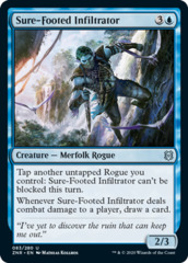 Sure-Footed Infiltrator - Foil
