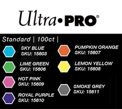 Ultra Pro - Standard Deck Protectors: Eclipse Pro-Gloss Lime Green 100 ct