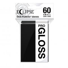 Ultra Pro - Small Deck Protectors: Eclipse Pro-Gloss Jet Black 60 ct
