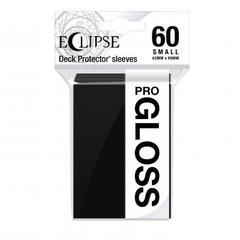 60ct Pro-Matte Eclipse Gloss Black Small Deck Protectors