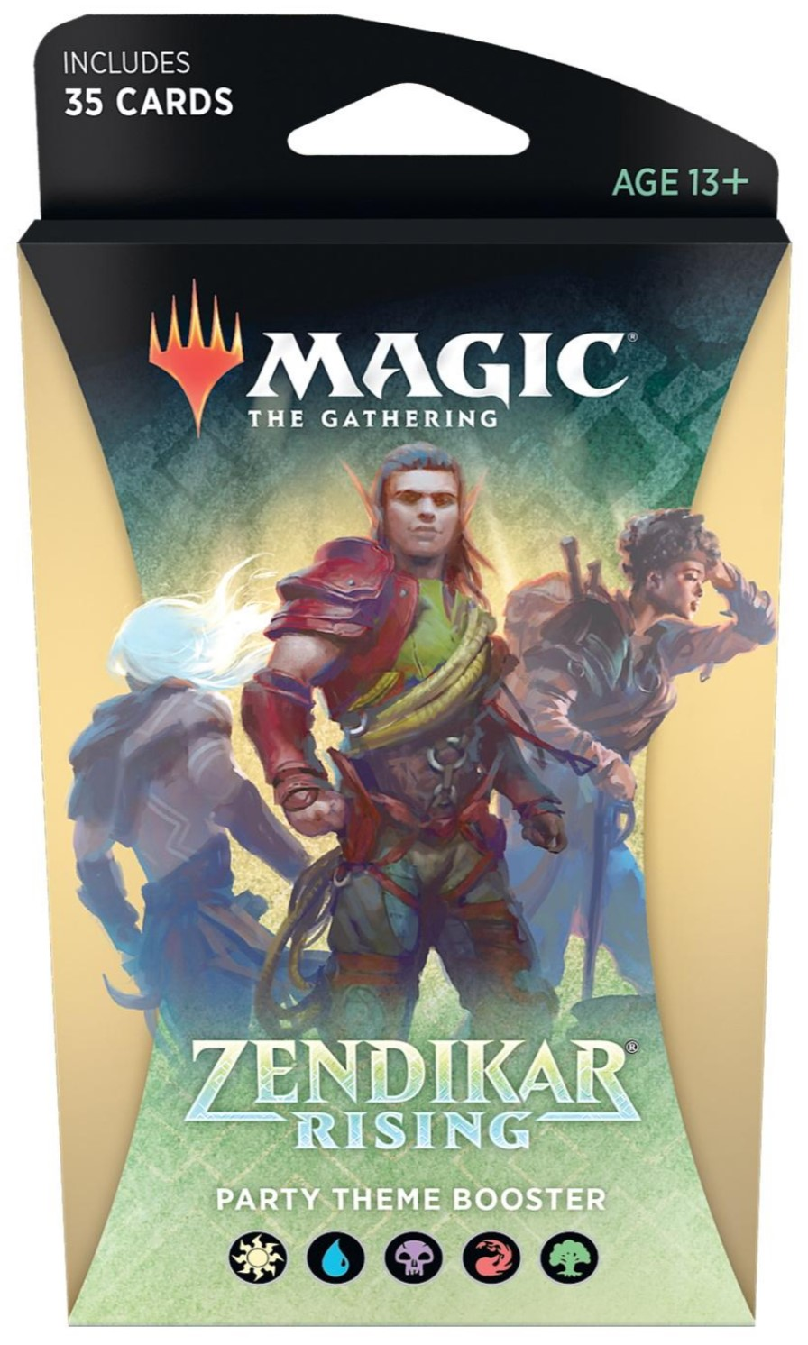 Zendikar Rising Theme Booster - Party