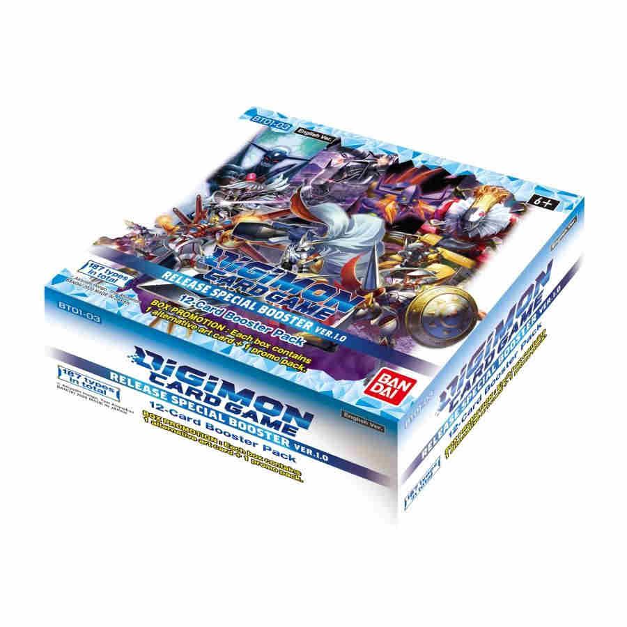 Digimon Card Game Release Special Booster Box Version 1.0 (PRE-RELEASE)