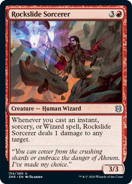 Rockslide Sorcerer
