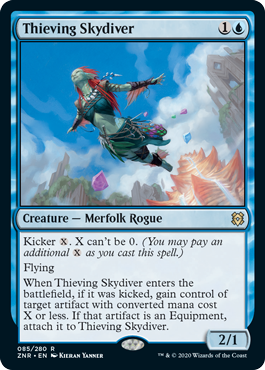 Thieving Skydiver - Foil