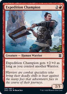 Expedition Champion - Foil