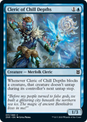 Cleric of Chill Depths - Foil