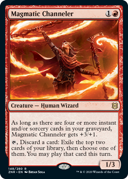 Magmatic Channeler - Foil