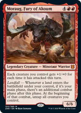 Moraug, Fury of Akoum - Foil