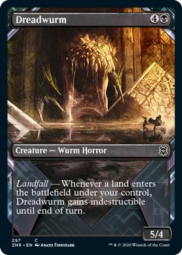 Dreadwurm - Showcase - Foil