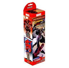 Marvel Heroclix: Spider-Man & Venom Absolute Carnage Booster Pack
