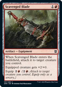 Scavenged Blade