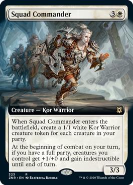 Squad Commander - Extended Art