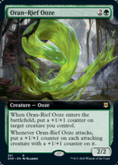 Oran-Rief Ooze - Foil - Extended Art