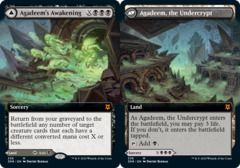 Agadeems Awakening // Agadeem, the Undercrypt - Foil - Extended Art