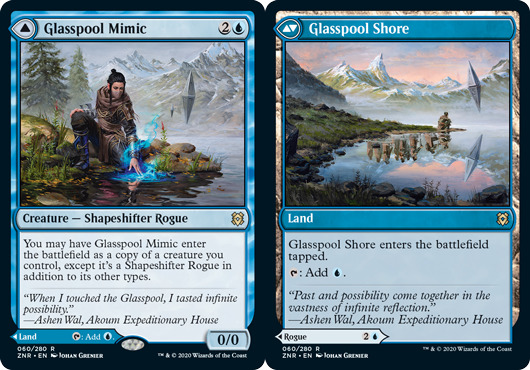 Glasspool Mimic // Glasspool Shore