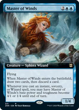 Master of Winds - Foil - Extended Art