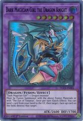 Dark Magician Girl the Dragon Knight - DLCS-EN006 - Ultra Rare - 1st Edition (Alternate Art)