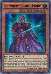 Legendary Knight Hermos (Blue) - DLCS-EN003 - Ultra Rare - 1st Edition
