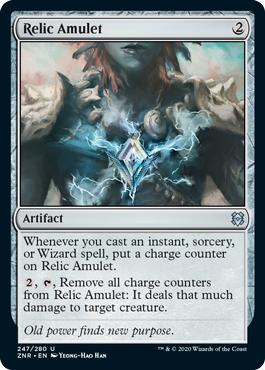 Relic Amulet