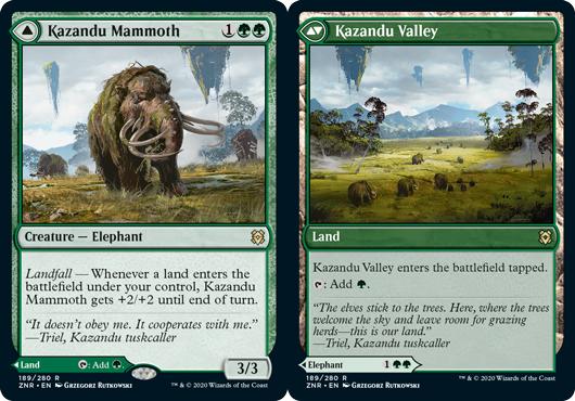 Kazandu Mammoth // Kazandu Valley - Foil
