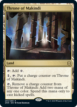 Throne of Makindi - Foil
