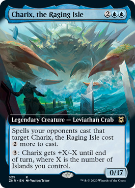 Charix, the Raging Isle - Foil - Extended Art