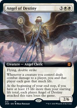 Angel of Destiny - Extended Art