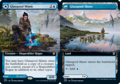 Glasspool Mimic // Glasspool Shore - Foil - Extended Art