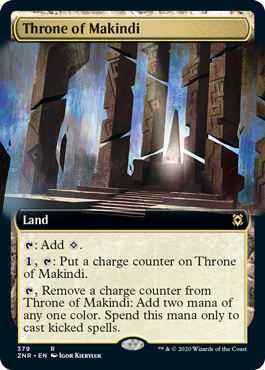 Throne of Makindi - Extended Art