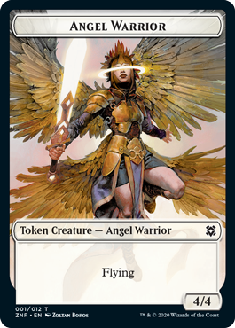 Angel Warrior Token