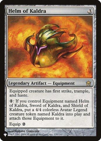 Helm of Kaldra - The List