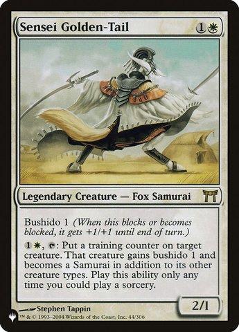 Sensei Golden-Tail - The List
