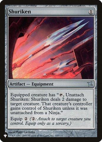 Shuriken - The List