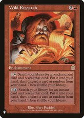 Wild Research - The List