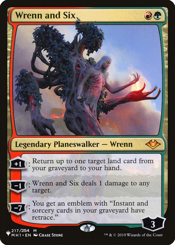 Wrenn and Six - The List