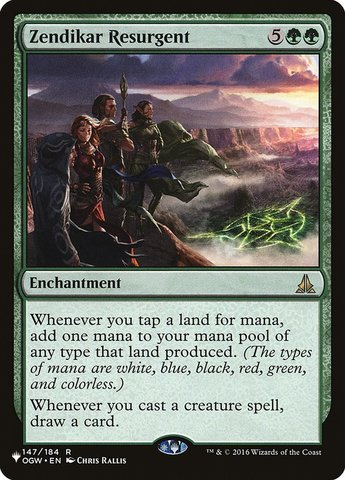 Zendikar Resurgent - The List