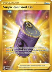 Suspicious Food Tin - 080/073 - Secret Rare