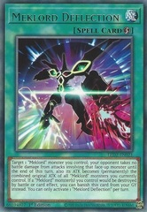 Meklord Deflection - LED7-EN021 - Rare - 1st Edition