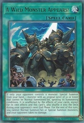 A Wild Monster Appears! - LED7-EN052 - Rare - 1st Edition