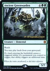 Ancient Greenwarden (Prerelease) - Foil