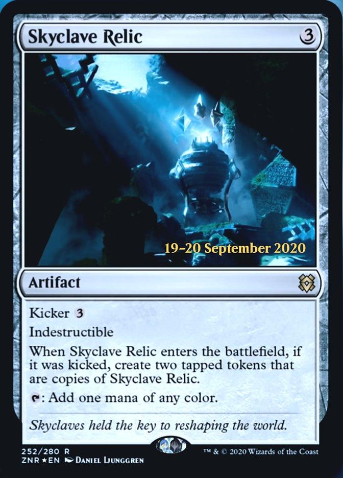 Skyclave Relic - Foil - Prerelease Promo