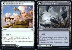Brightclimb Pathway // Grimclimb Pathway - Foil - Prerelease Promo