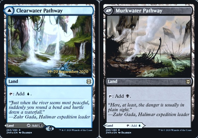 Clearwater Pathway // Murkwater Pathway - Foil - Prerelease Promo
