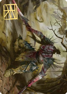 Highborn Vampire Art Card - Gold-Stamped Signature