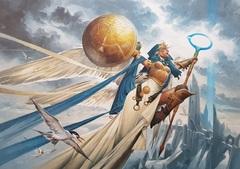 Linvala, Shield of Sea Gate Art Card